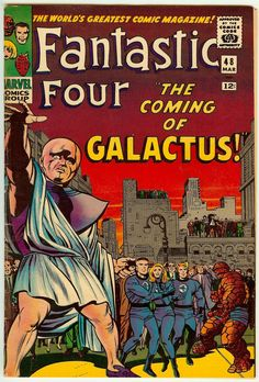 Fantastic Four #48.  The first appearance of The Watcher, Galactus & The Silver Surfer.