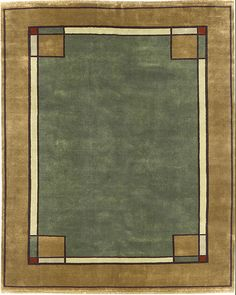 The Persian Carpet - Arts & Crafts Series – The Ginkgo Border PC29B