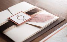 46 Stylish And Elegant Fall Wedding Invitations | Weddingomania