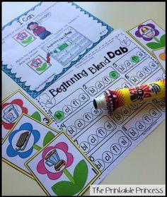 Beginning L blends bingo dab!