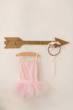 Hanging Toddler Ballet Tutu - must-have for a big girl room!