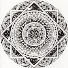 Mandalas Zentangle