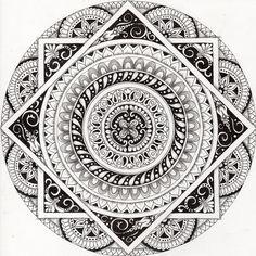 Gorgeous Mandala design by @Emilia Forrest Majek