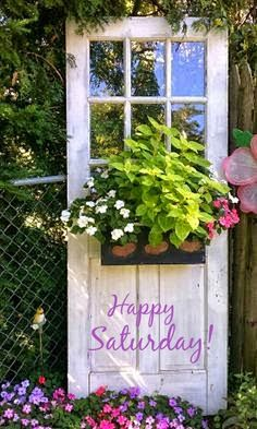 Image result for happy saturday nice garden images