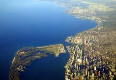 Space Shuttle final approach to Toronto Island. Chris Hadfield, Toronto Island, Space Shuttle, Planet Earth, Planets, City Photo, River, Outdoor, Beautiful