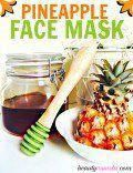 quick and easy homemade face masks #Homemadefacemasks #FaceMaskForSpots Easy Homemade Face Masks, Face Scrub Homemade, Diy Face Mask, Banana Face Mask, Avocado Face Mask, Strawberry Face Mask, Diy Top, Pineapple Face, Natural Face Moisturizer