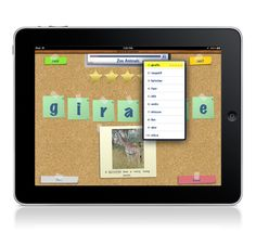 SpellBoard allows you to create any spelling quiz in any language. On the ipad app list for 2014 :)