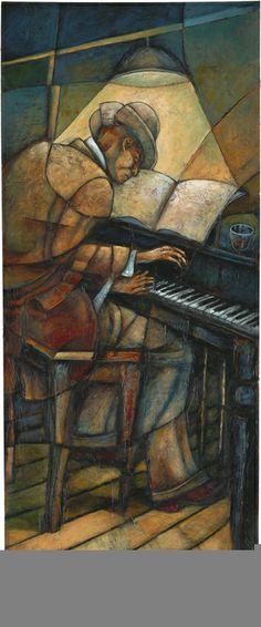 Sidney Carter -  Piano Man