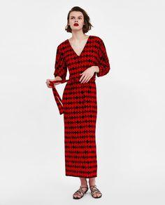 3893ed6fa2 Image 1 of ARGYLE DRESS from Zara Śliczne Sukienki