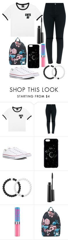 """""""Senior year"""" by torilee-03 ❤ liked on Polyvore featuring Converse, Lokai, MAC Cosmetics and Herschel Supply Co."""