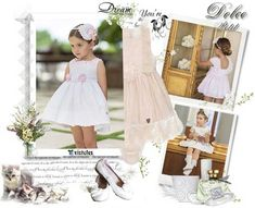 Todos los looks BBC en Dolce Petit Girls Dresses, Flower Girl Dresses, Wedding Dresses, Fashion, Kids Fashion Blog, Outfits, Tulle, Couture, Lace