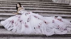 Smartologie: Bianca Balti for Alessandro Angelozzi Couture Bridal 2015