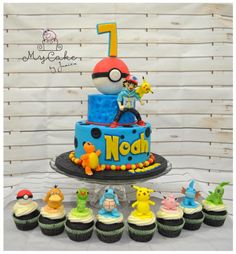 Pokemon ~ Gotta catch them all !!! - Cake by Hopechan