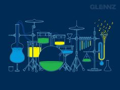 you can make music with chemistry
