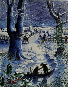 Teresa's Cozy Corner Mole's Christmas, or, Home Sweet Home (from The Wind in the Willows by Kenneth Grahame. (1984). Illustrations by Beverley Gooding