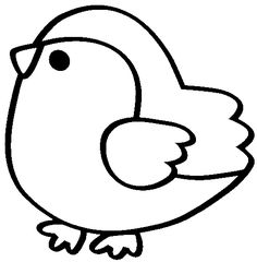 88492965_f_6907221.gif (501×510) Free Kids Coloring Pages, Bird Coloring Pages, Printable Coloring Pages, Coloring Pages For Kids, Coloring Sheets, Easy Drawing Tutorial, Applique Patterns, Applique Designs, Drawing For Kids