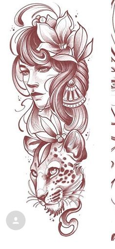 Lower Back Tattoos Pin Up Tattoos, Time Tattoos, Wolf Tattoos, Body Art Tattoos, Sleeve Tattoos, Tattoo Sketches, Tattoo Drawings, Neo Tattoo, Tattoo Flash