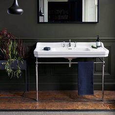 Burlington Edwardian 120cm Basin & Chrome Wash Stand Profile Image