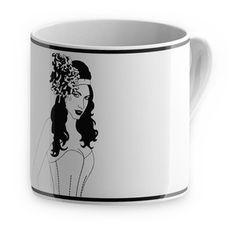Burlesque Mug Lolita, $20.50, now featured on Fab.