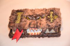 Harry Potter's Monster Book of Monsters by ARTiculationbyKEF. I could make this.