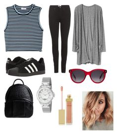 """""""🐾"""" by alaxaaleys ❤ liked on Polyvore featuring A.L.C., Acne Studios, adidas, Alexander Wang, Alexander McQueen, Akribos XXIV and AERIN"""