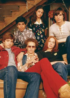 Love that 70's show !!!! #ericforman #kelso #hyde
