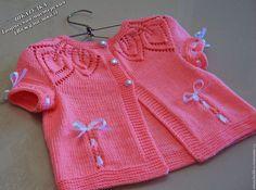 Одежда для девочек, ручной работы. Ярмарка Мастеров - ручная работа. Купить Вязаная кофточка для девочки