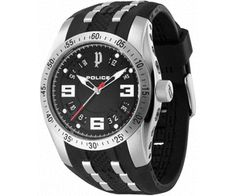 A birthday is coming up and you have no gift to give? Relax! Get a Police topline P-Black watch