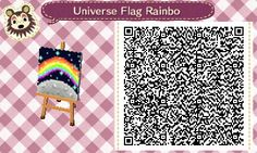 Angie's Animal Crossing Blog - Ok, so I decided to do a galaxy rainbow theme for...