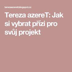 Tereza azereT: Jak si vybrat přízi pro svůj projekt