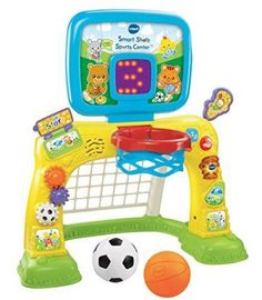 VTech Smart Shots Sports Center is one of best outdoor play toys for toddlers! Toddler sports toys are great for active play. Toddler Toys, Baby Toys, Kids Toys, Toddler Sports, Baby Baby, Toddler Daycare, Reborn Toddler, Toddler Girl, 1 Year Old Christmas Gifts
