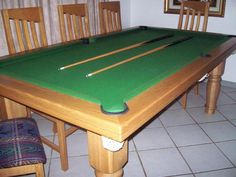 Pool Table Dining Room Table Combo - http://quickhomedesign.com/pool-table-dining-room-table-combo/?Pinterest