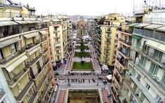 In Pictures: Thessaloniki from Above - Greece Is Thessaloniki, Greece, Street View, Pictures, Photos, Grease