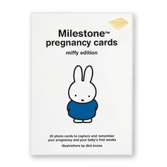 Milestone™ Pregnancy Cards - miffy edition http://www.milestonecards.com/en/products