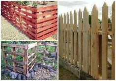Wood Pallet Fence Ideas