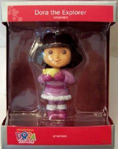 American Greetings Dora The Explorer 2012 Christmas Ornament New $19.99