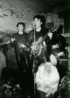 A very young John and Paul