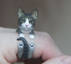 Miniature Animal Cling Rings by Flomaster