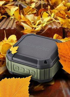 Bring your music and phone calls on your outdoor activities with a heavy duty wireless speaker!  - www.MyWonderList.com