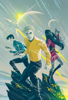 James T. Kirk, Nyota Uhura, Spock || Star Trek AOS