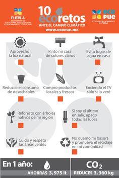 10 EcoRetos ante el #CambioClimático  vía @eco_pue