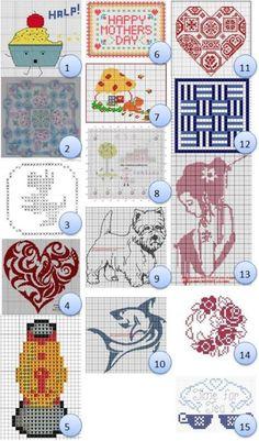 more free cross stitch designs   I LOVE to Cross-stitch