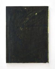 John Zurier, Sulfur, 2014, oil on linen, 25 x 19 inches