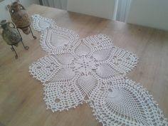 Visit the post for more. Free Crochet Doily Patterns, Crochet Art, Crochet Motif, Fabric Flower Tutorial, Fabric Flowers, Crochet Dollies, Crochet Bedspread, Crochet Table Runner, Crochet Boots
