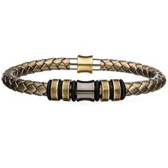Our coffee-inspired Leatherccino men's bracelet in braided black and brown leather is tough, masculine and ultra-comfortable. Features a stainless steel clasp. Bracelets For Men, Cuff Bracelets, Brass Color, Braided Leather, Leather Cuffs, Black Rubber, Green Leather, Black And Brown, Braids