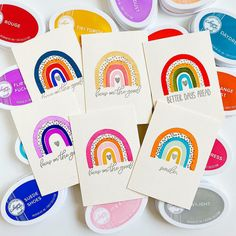 Arts And Crafts, Paper Crafts, Rainbow Card, Image Stamp, Guest Gifts, Better Day, Clear Stamps, Birthday Cards, Card Making
