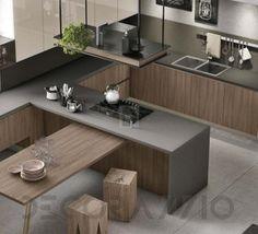 #kitchen #design #interior #furniture #furnishings #interiordesign комплект в кухню Stosa Infinity, St.С154