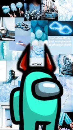 Among Us Egg Sticker In 2021 Iphone Wallpaper Tumblr Aesthetic Blue Wallpaper Iphone Iphone Background Wallpaper