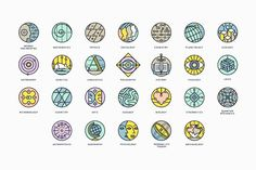 26 Conceptual Science Marks - Icons