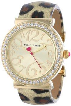 Santa, I would like this watch!  Betsey Johnson Crystal Bezel Metallic Leopard Cuff Watch, 42mm Betsey Johnson http://www.amazon.com/dp/B00BQ3C6Y8/ref=cm_sw_r_pi_dp_3Fmfub16QZZEB